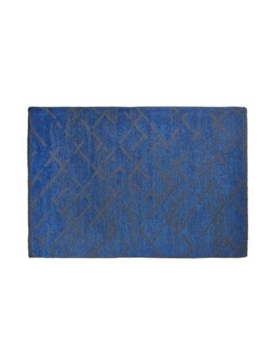 MarkaEv Mona 431 Mavi Kilim  Mavi